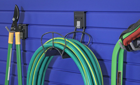 Hose and Cord Holder Slatwall Accessory